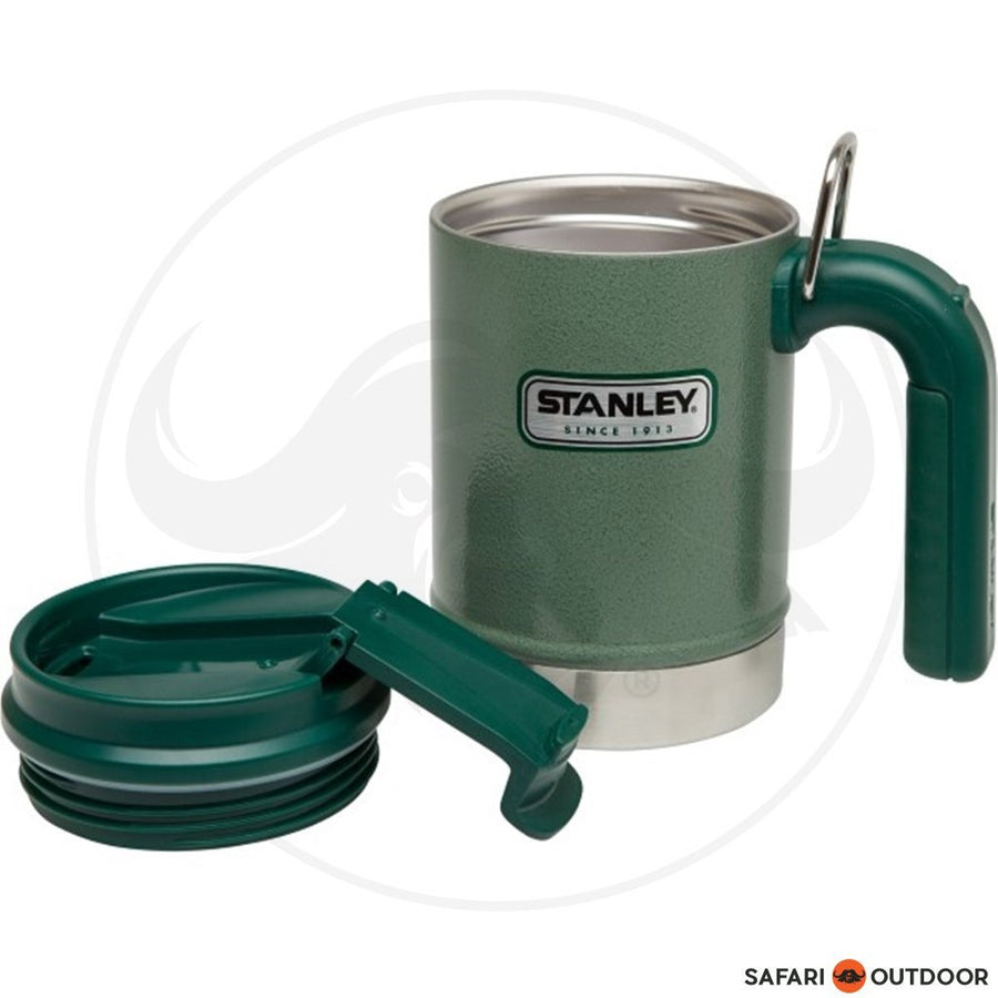 STANLEY CAMP MUG CLASSIC 16OZ - GREEN - SAFARI OUTDOOR