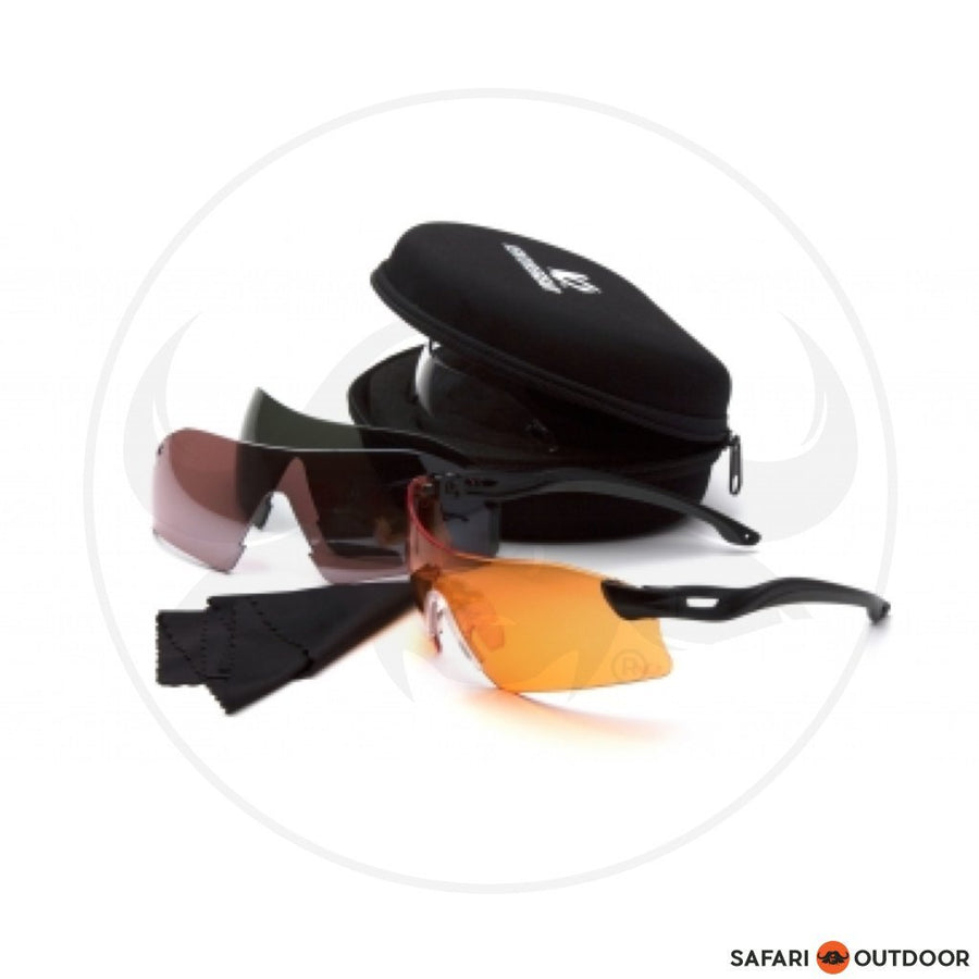 Venture Gear Dropzone Shooting Glasses Kit - SAFARI OUTDOOR