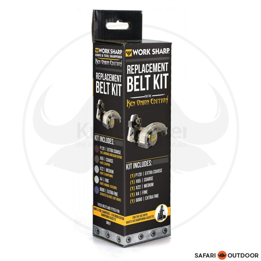 WORKSHARP KEN ONION BELT KIT - 5 PACK - SAFARI OUTDOOR