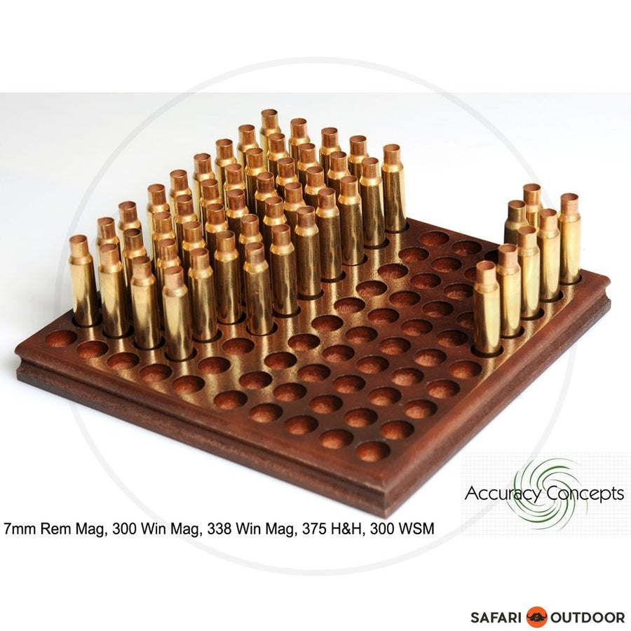 ACCURACY CONCEPTS RELOADING TRAY MAGNUM RIFLE 100 (300;375;7MM)