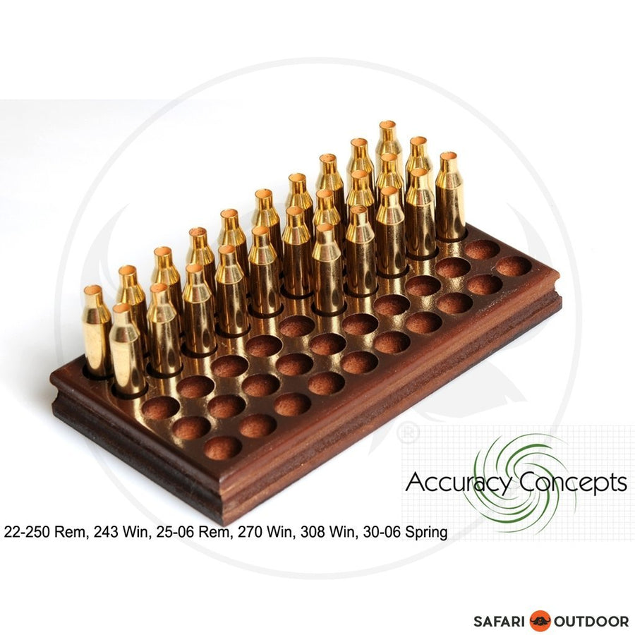 ACCURACY CONCEPTS RELOADING TRAY STANDARD RIFLE 50 (243;308;270;30-06)