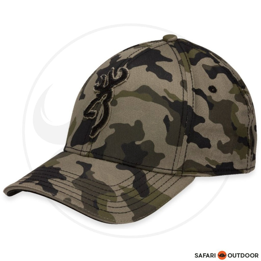 BROWNING CAP MEN STALKER FLEXFIT -CAMO