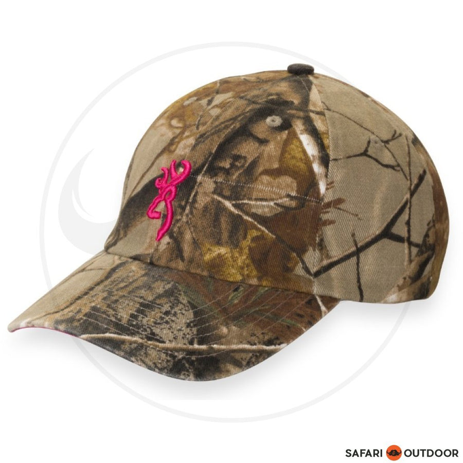 BROWNING CAP LADIES 3D BUCKMARK -REALTREE XTRA