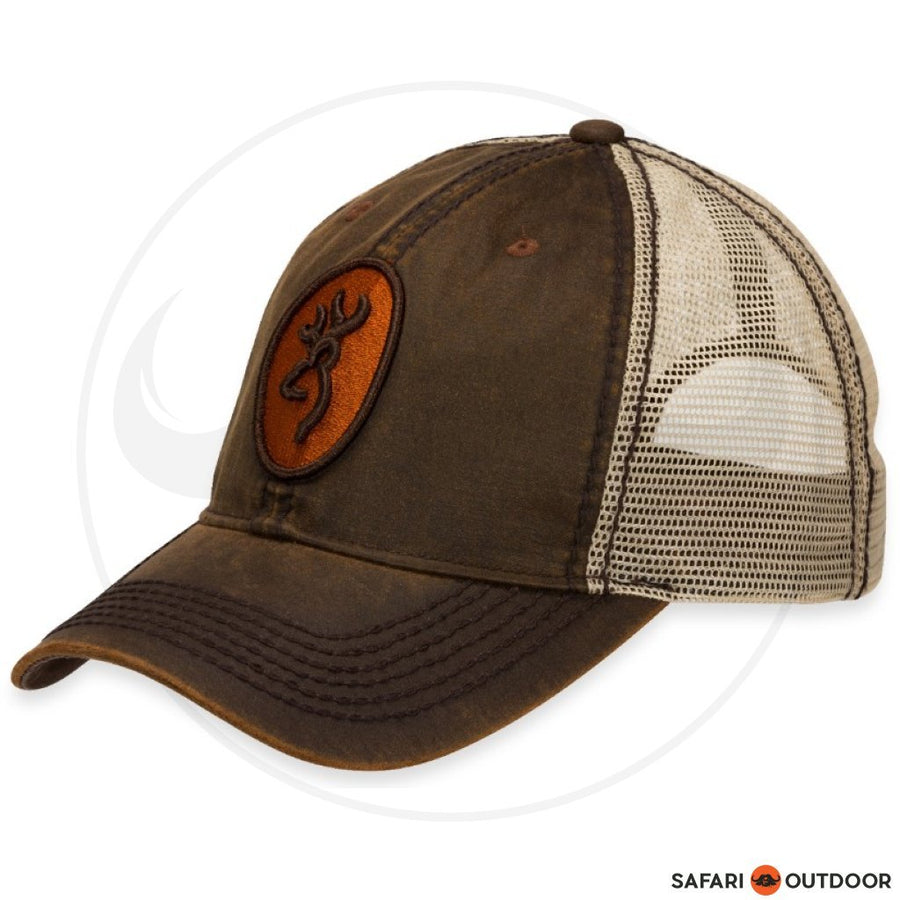 BROWNING CAP MEN CODY MESH -BROWN/ORANGE