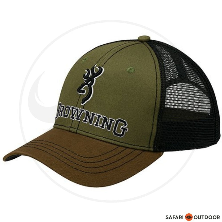 BROWNING CAP MEN G3 LODEN -BROWN
