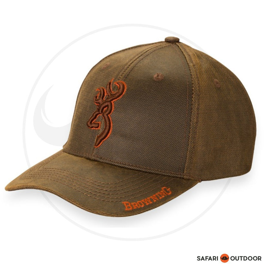 BROWNING CAP MEN RHINO HIDE -BROWN