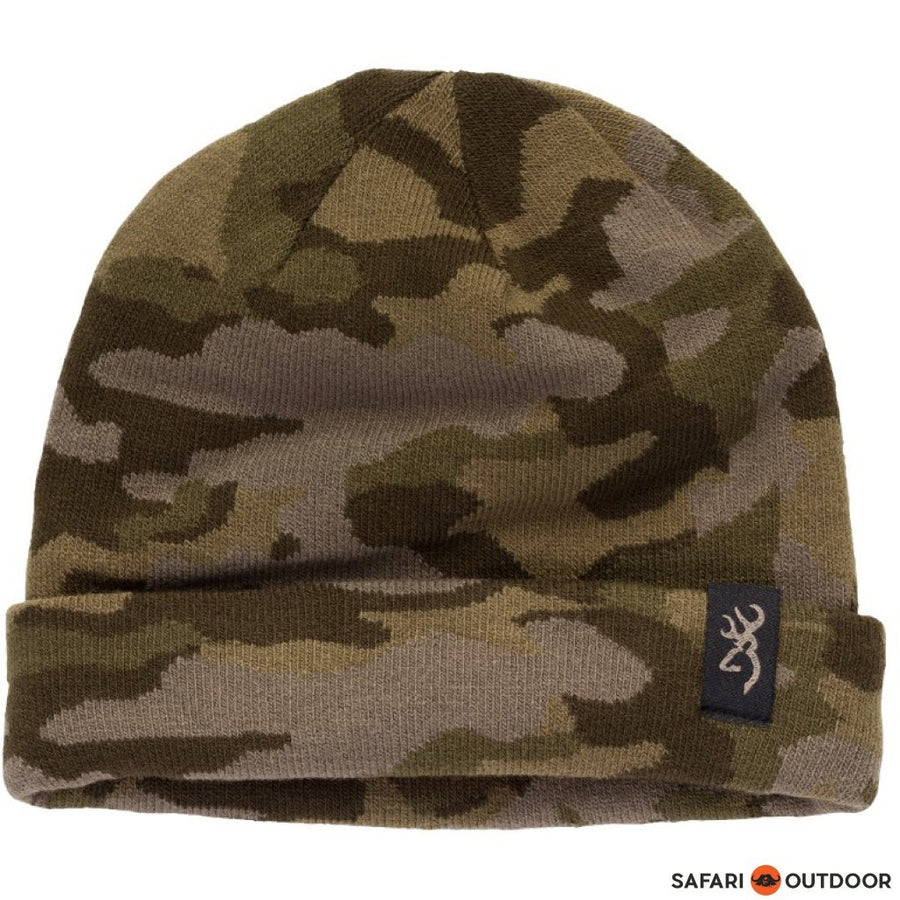 BROWNING BEANIE MEN REVERSIBLE KNIT -CAMO