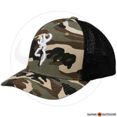 BROWNING CAP MEN COLSTRIP FLEXFIT -CAMO
