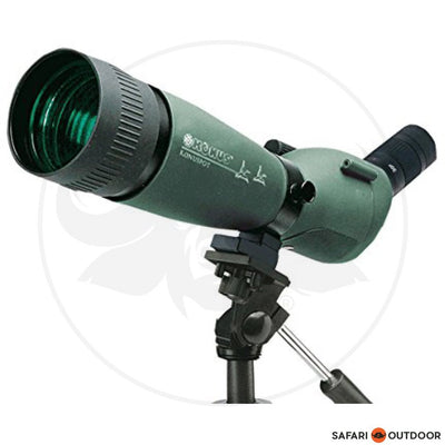 KONUS20-60X80MM SPOTTING SCOPE INCLUDING TRIPOD AND BAG