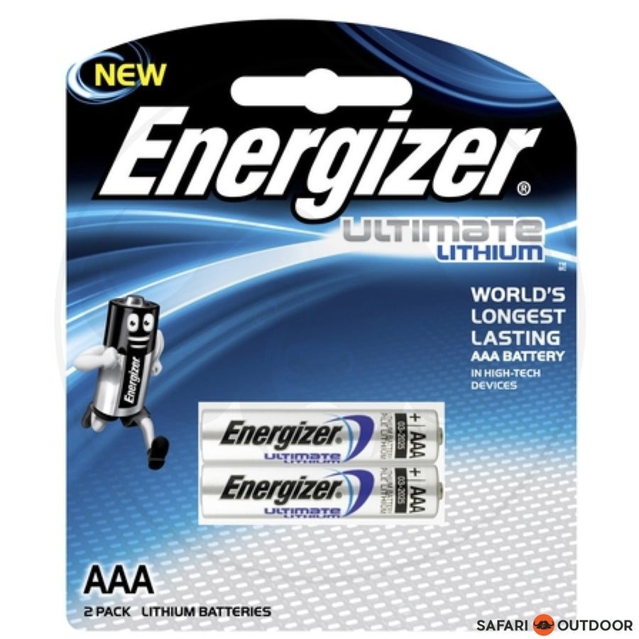 ENERGIZER E2 LITHIUM AAA (X2) BATTERIES