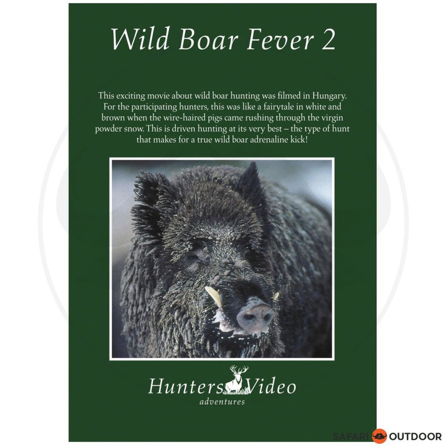 WILD BOAR FEVER 2 (DVD)