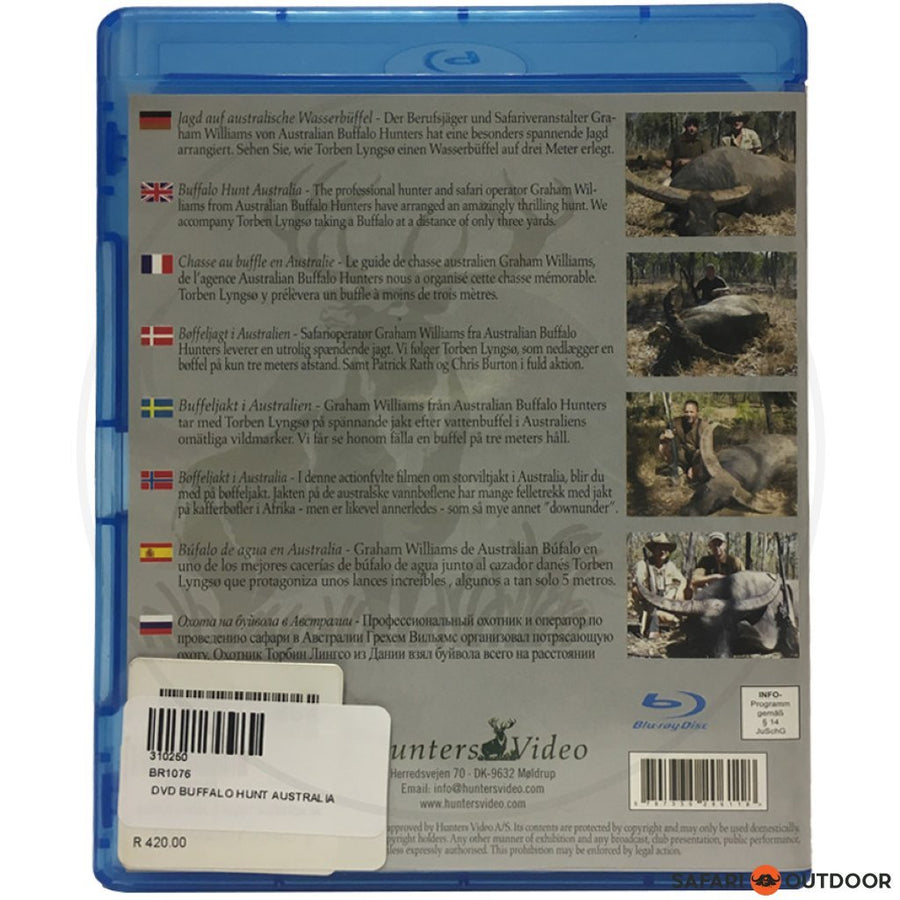 BUFFALO HUNT AUSTRALIA (DVD)