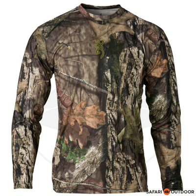 BROWNING LONG SLEEVE SHIRT MEN VAPOR MAX MOSSY OAK BREAK-UP COUNTRY
