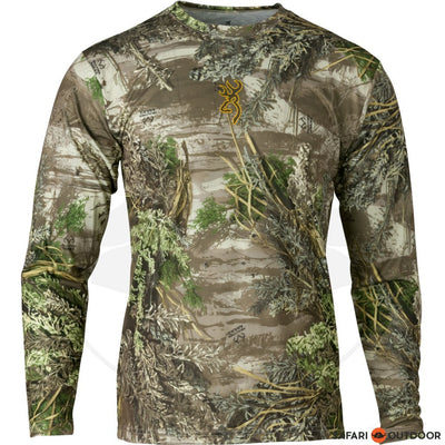 BROWNING LONG SLEEVE SHIRT MEN VAPOR MAX MOSSY OAK SHADOW GRASS BLADES