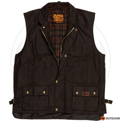 BURKE AND WILLS CAPRICORN VEST -BROWN