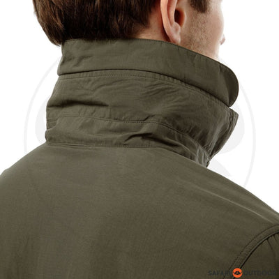 CRAGHOPPERS LONG SLEEVE MEN NOSILIFE ADVENTURE - OLIVE