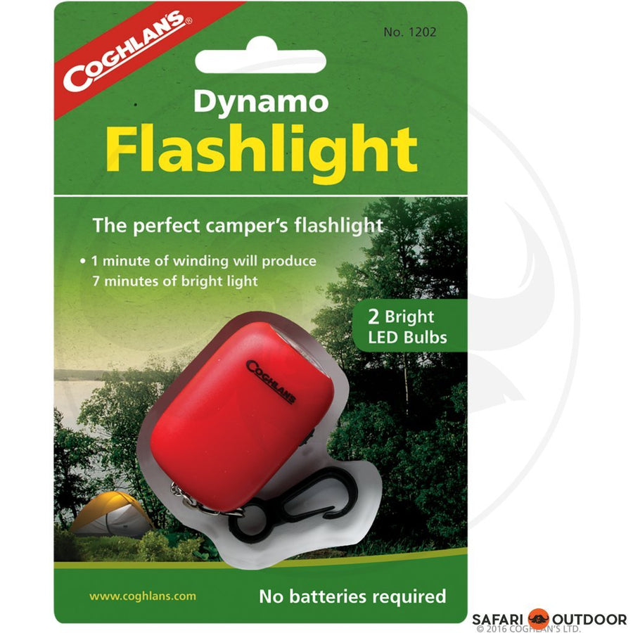 COGHLANS DYNAMO FLASHLIGHTS