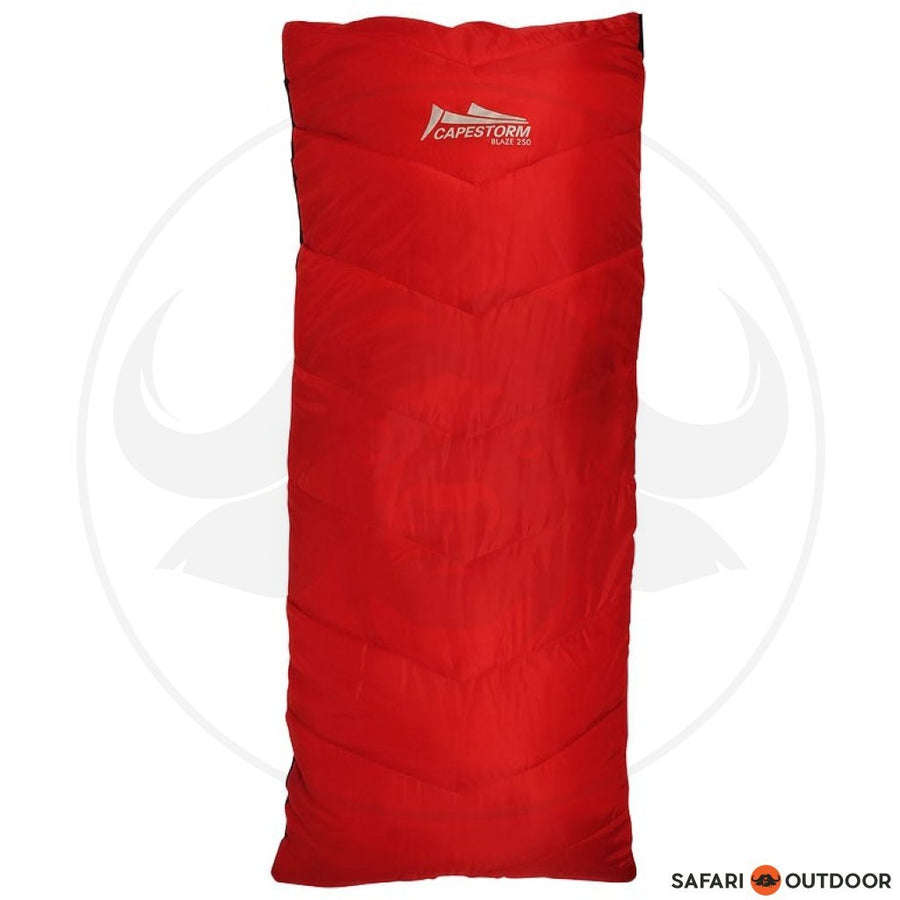 CAPESTORM BLAZE 250 RED SLEEPBAG