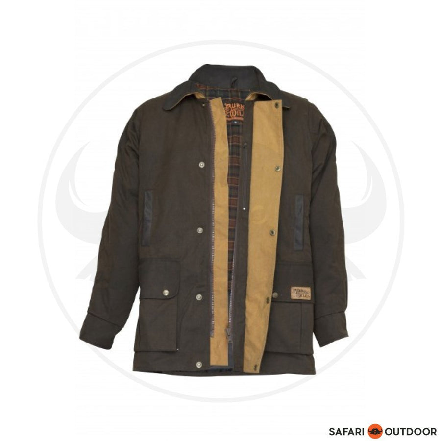 BURKE AND WILLS DARWIN JACKET -BROWN