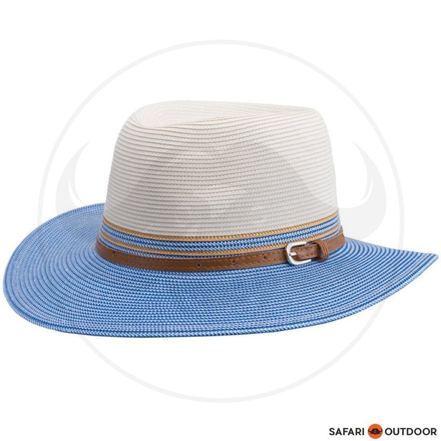 EMTHUNZINI HAT BELLA 15R LADIES -IVORY BLUE deff2bcb9313