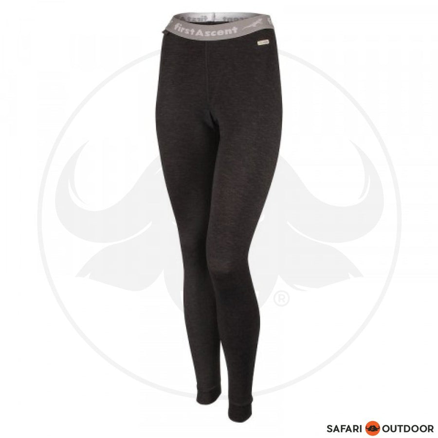 FIRST ASCENT THERMAL LONG JOHN LADIES -BLACK