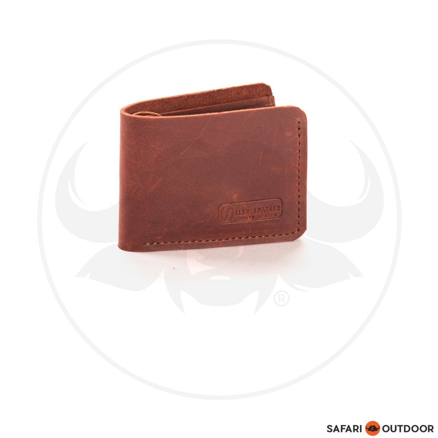FILLY WALLET MENS CLASSIC RED BROWN