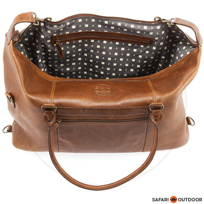 FREEDOM OF MOVEMENT  DUFFLE BAG FRANKLIN -PECAN
