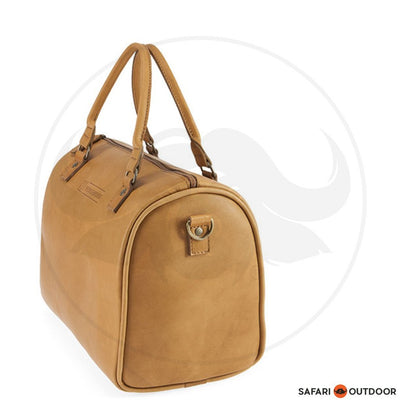 FREEDOM OF MOVEMENT BOX BAG -TOFFEE