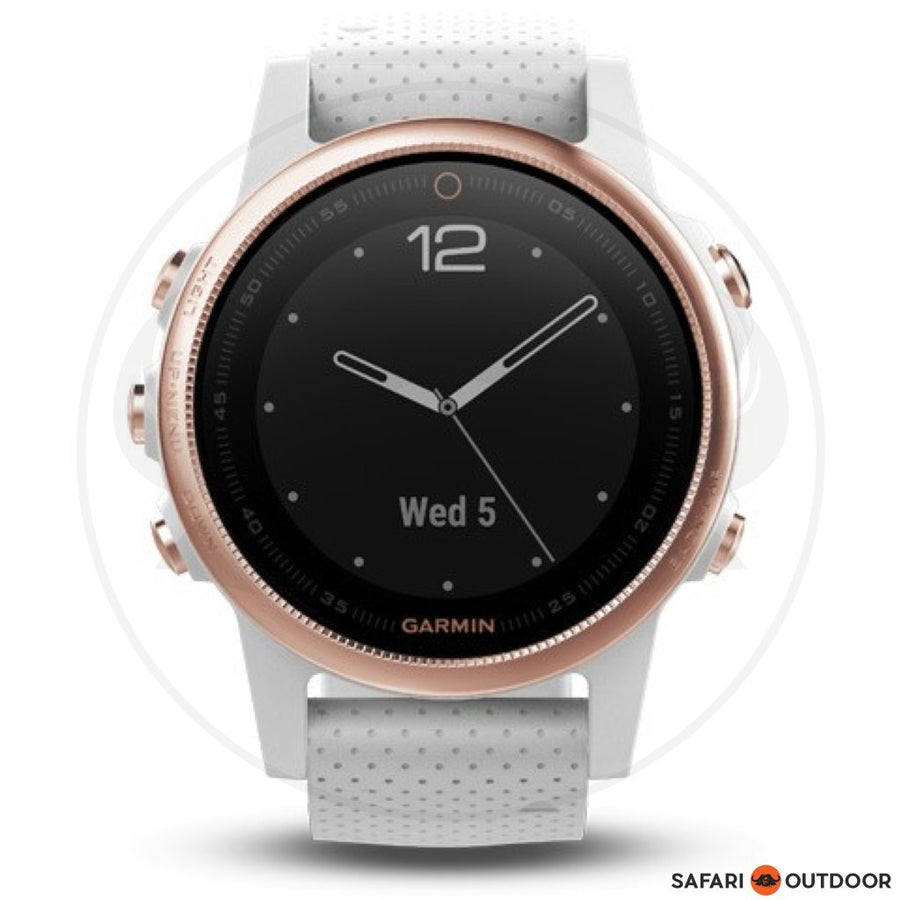 GARMIN FENIX 5S SAPHIRE ROSE GOLD TONE WATCH
