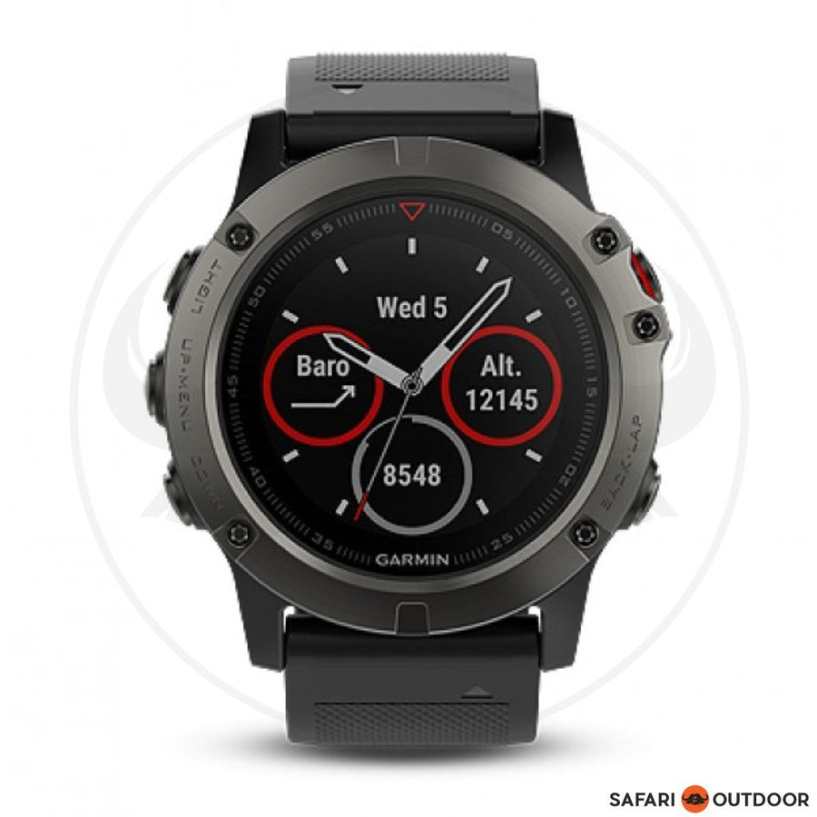 GARMIN FENIX 5X SAPHIRE SLATE GREY WATCH