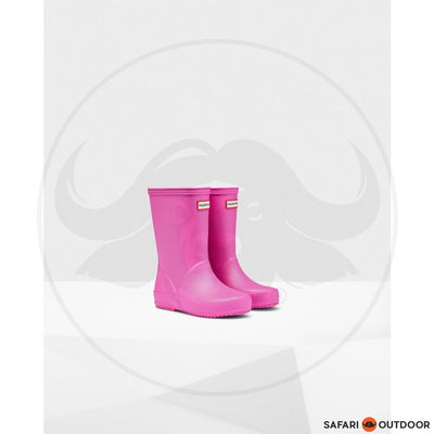 HUNTER BOOT ORIGINAL KIDS -FUCHSIA