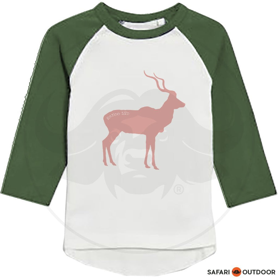 KAROO LTD TSHIRT LADIES KUDU -OLIVE