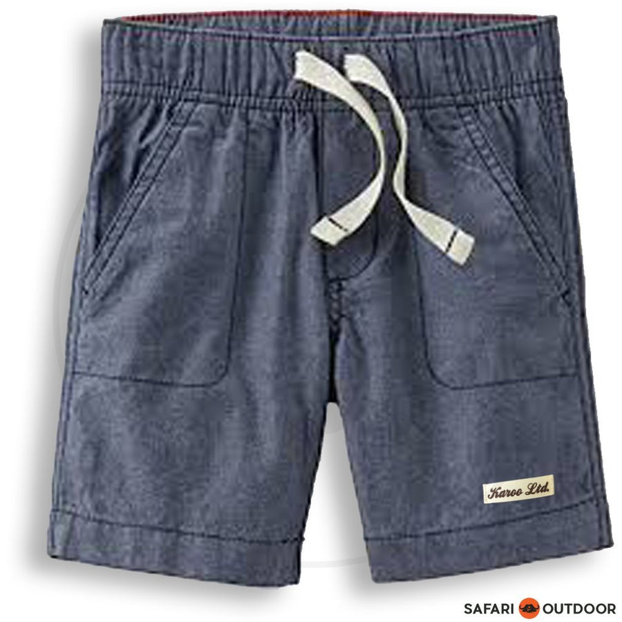 KAROO SHORT BOY DENIM -NAVY