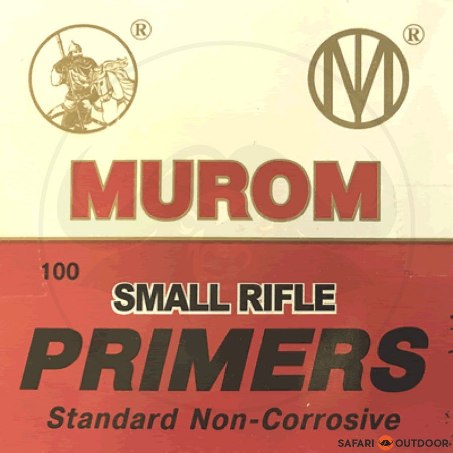 MUROM SMALL RIFLE PRIMERS (100)