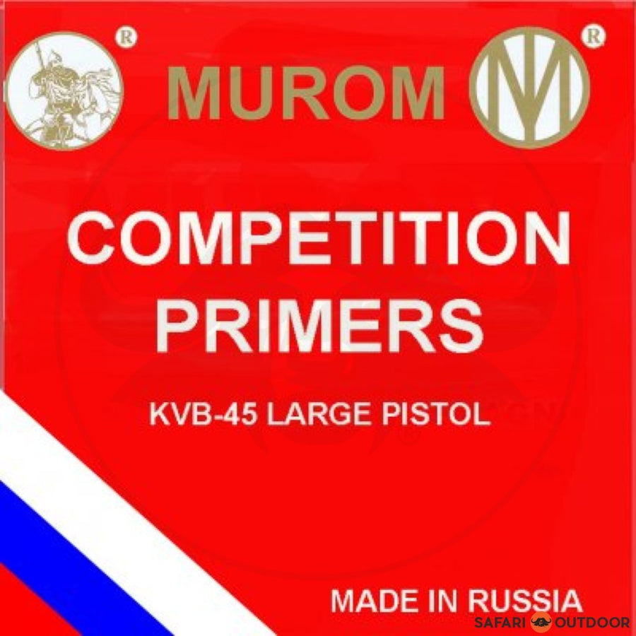 MUROM  SMALL PISTOL COMPETITION PRIMERS (100)
