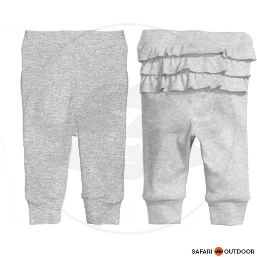 KAROO LTD PANT BABY GIRL RUFFEL -GREY