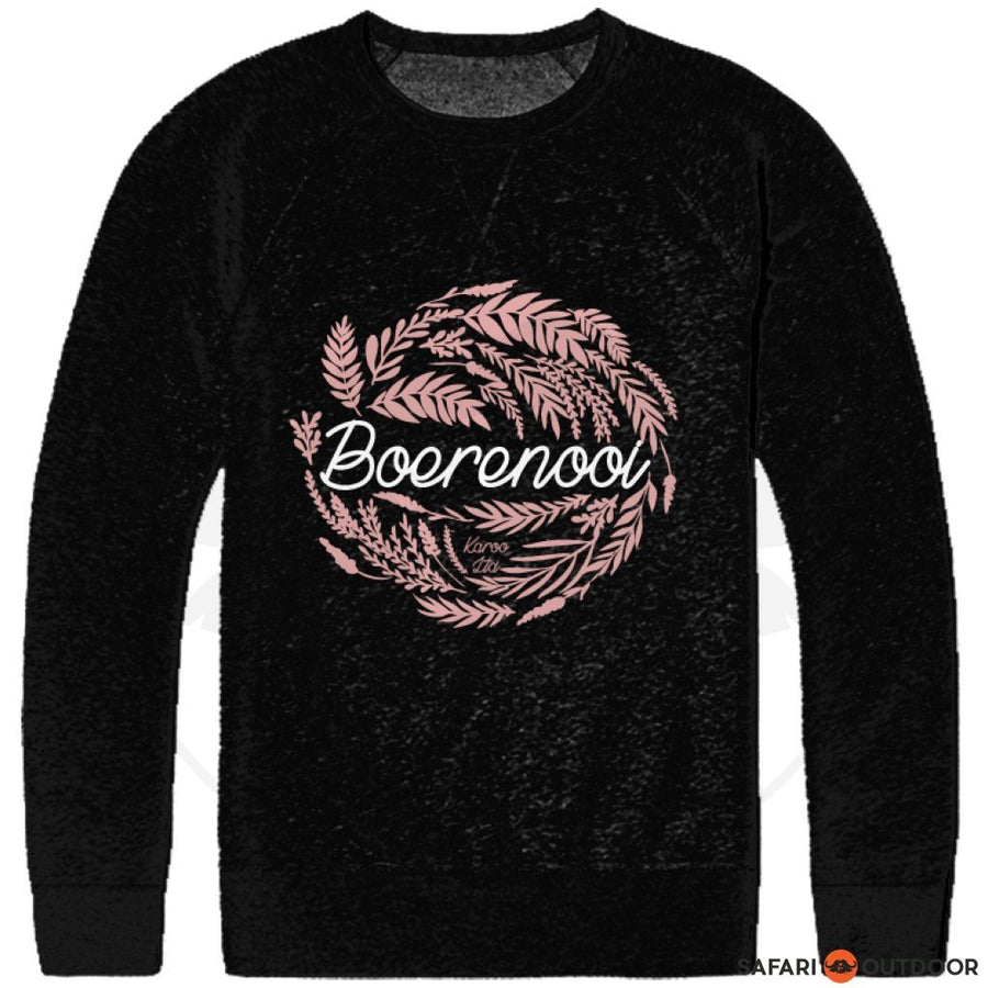 KAROO LTD LONG SLEEVE GIRLS BOERENOOI -BLACK