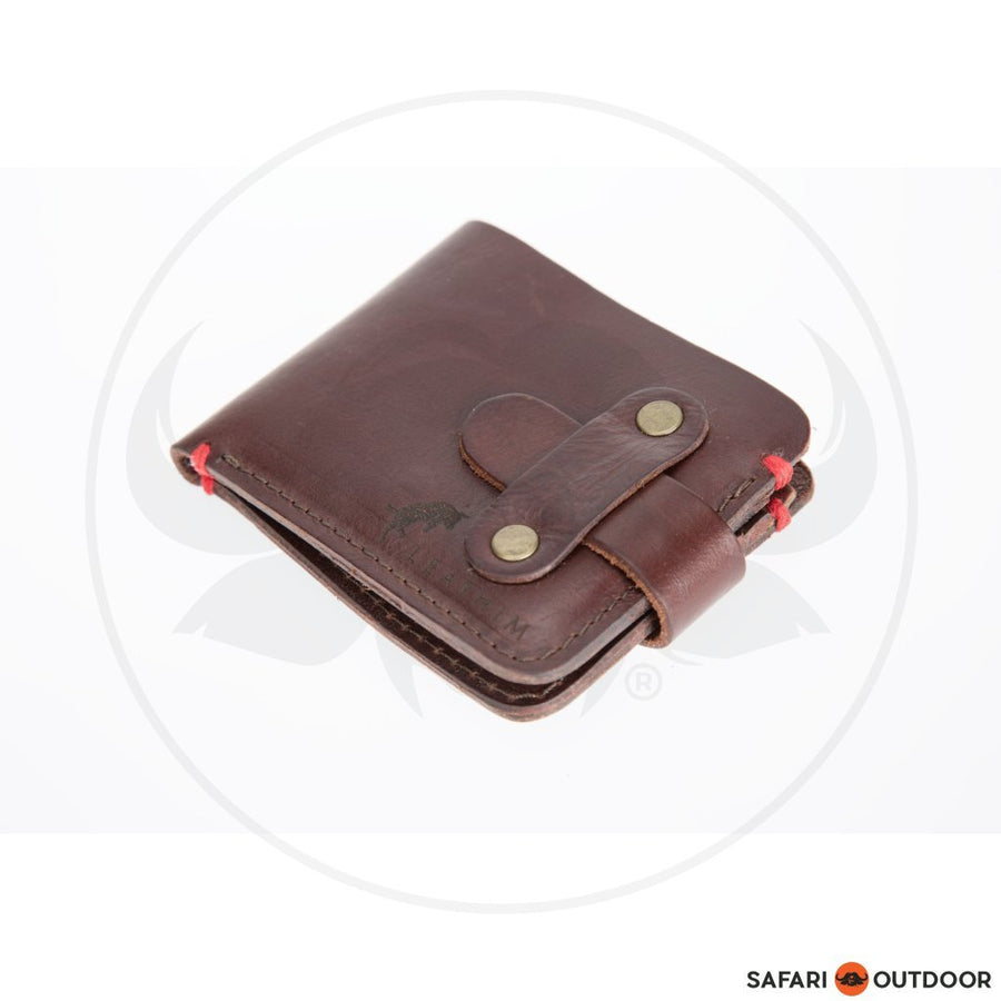 LEATHIM VOLKSKAS WALLET LIGHT -BROWN