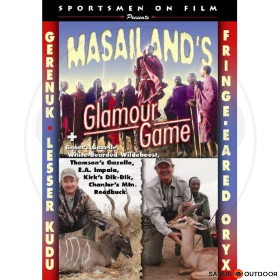 MASAILANDS GLAMOUR AND GAME (DVD)