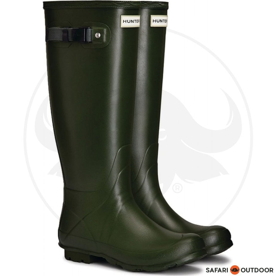 HUNTER BOOT NORRIS W16R MEN FIELD GREEN