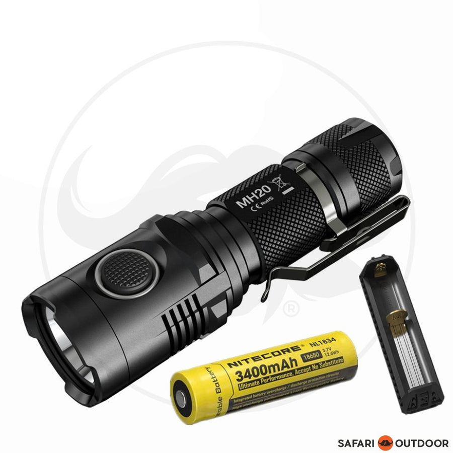 NITECORE MT10C + BATTERY +F1 CHARGER