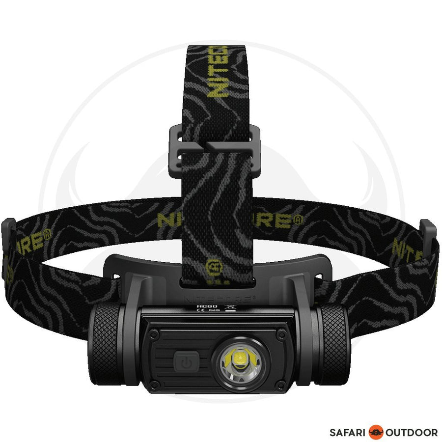 NITECORE HC60 HEAD LAMP+3400MAH BATTERY + USB CHARGER