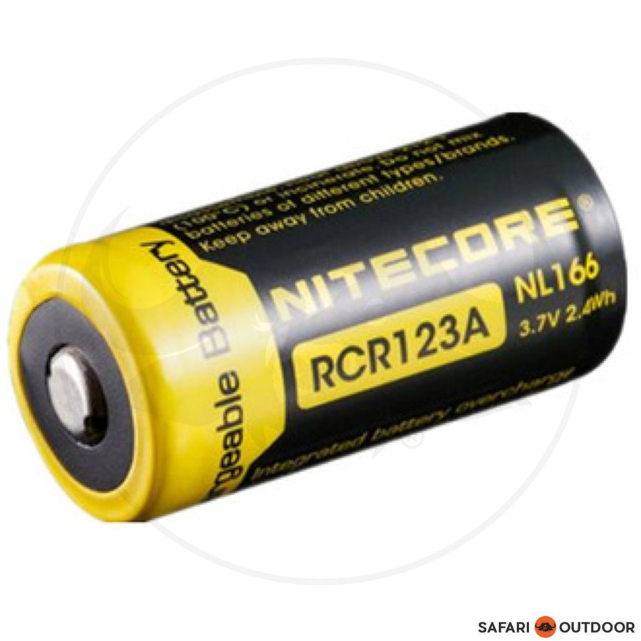 NITECORE RCR123 RECHARGEABLE 3.7V BATTERY