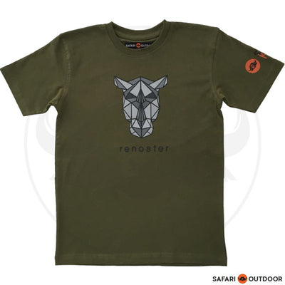SAFARI OUTDOOR T-SHIRT KIDZ RENOSTER - OLIVE
