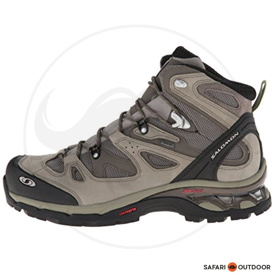 SALOMON SHOES MENS COMET 3D GTX HIKING - GREEN