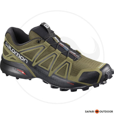 SALOMON SHOE MEN SPEEDCROSS 4 -OLIVE