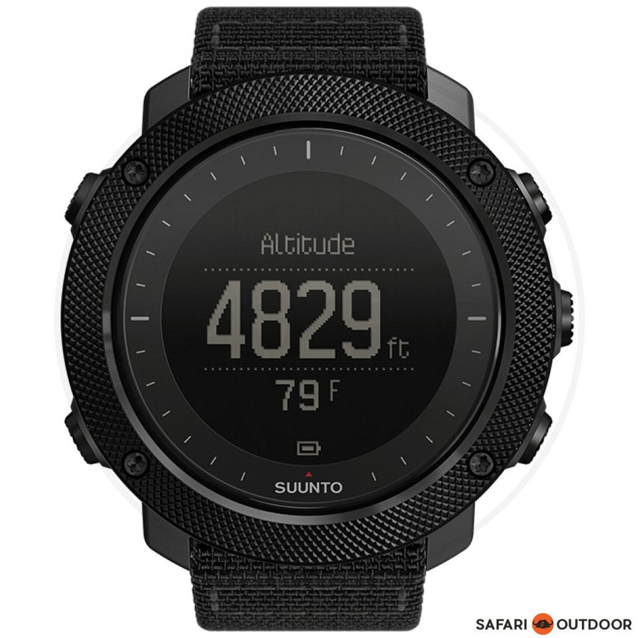 SUUNTO TRAVERSE ALPHA HR -STEALTH