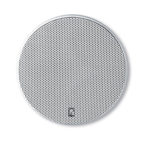 "Poly-Planar 6.5"" Platinum Round Marine Speaker - (Pair) White [MA6600]"