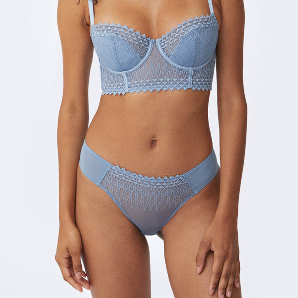 Aura Cheeky Panty - Monique Morin Lingerie