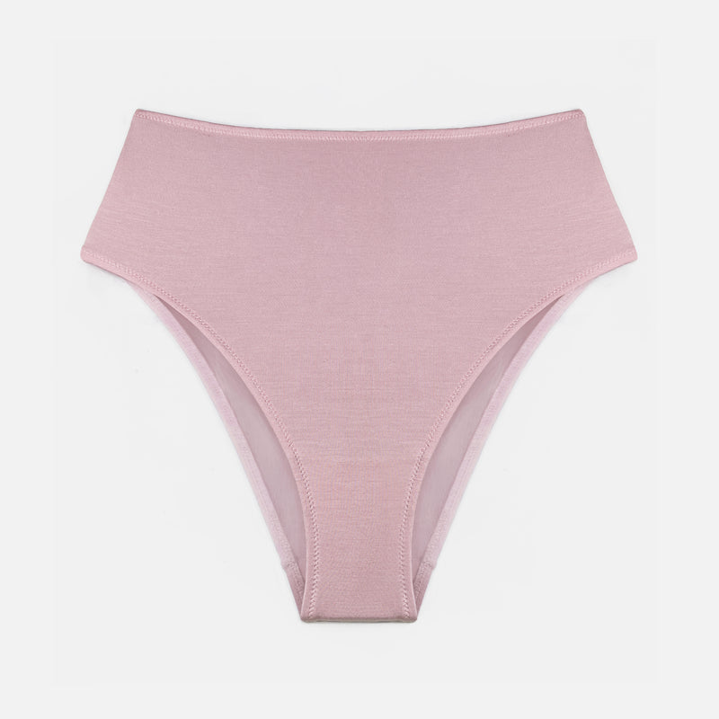 Caress Brief Fleur Pink - Monique Morin Lingerie